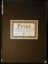 1946 Print Graphic Arts Lehmann-Hart Zinsser Carl P Rollins Ray Nash Karl Kup +