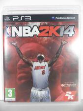 jeu NBA 2K14 pour PLAYSTATION 3 game spiel juego basket 2014 sport francais PS3
