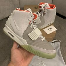 Brand new Nike Air Yeezy 2 Pure Platinum Solars Red October UK 8 / US 9