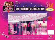 "Bachelorette Party Ceiling Decoration 60"" Hanging Wedding Bride Pink Supplies"