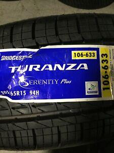 1 New 205 65 15 Bridgestone Turanza Serenity Plus Tire