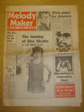 MELODY MAKER 1979 JAN 6 DIRE STRAITS ROD STEWART DYLAN
