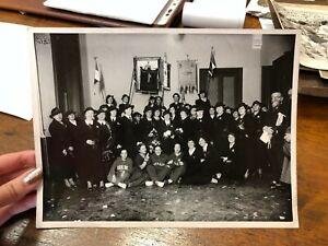 FOTOGRAFIA FASCIO FEMMINILE AMOS MARAMOTTI TORINO 1936 FASCISMO 22