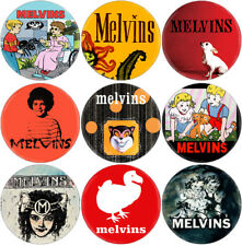Melvins - Lot of 9 badges (pins, buttons, spille, Mudhoney, Butthole Surfers)