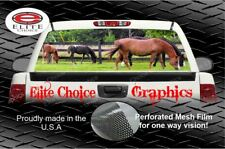 Horse Rear Window Graphic Decal Sticker Truck Car SUV
