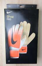 Nike GK Spyne Pro Soccer Goalkeeper Gloves (GS3376-100) size 8 - NEW