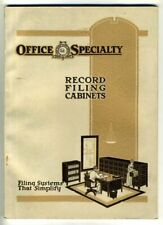 OFFICE SUPPLY FILING DEVICES Catalog 1920s Canadian Edition OFFICE SPECIALTY MFG