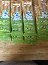 Mini Moos Organic Caramel Bar 8 X Bars