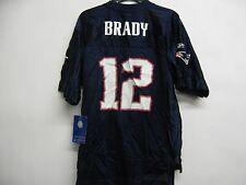 Tom Brady New England Patriots *Irregular NFL Youth Small 8 EQP Navy Jersey