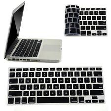 Silicone Keyboard Skin Cover For Apple Macbook Pro Air Mac Retina 13.3 Black