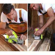 220V Portable Aluminium Shell Electric Planer Wood Working Hand Held Wood Planer