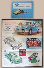 Prospetto pubblicitario opuscolo Riley One-Point-Five 1.5 automobilistica per Oldtimer 1960 XZ