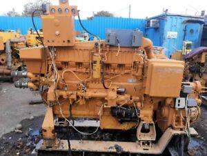 Caterpillar 3406E Diesel Engine With Gear Box