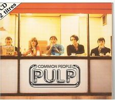 PULP common people CD SINGLE fance french limited edition digipack