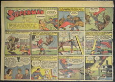 SUPERMAN SUNDAY COMIC STRIP #29 May 19, 1940 2/3 FULL Page DC Comics RARE