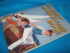 """BOYS"""" Adventure Book/Adventure Book for Boys  pre 1948 Children's Press  in MELB"""