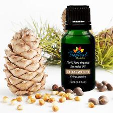 Cedarwood Organic Essential Oil 15ml (1/2 oz), 100% Pure Therapeutic Grade