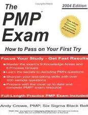 The PMP Exam: How to Pass on Your First Try, Crowe, Andy, 0972967303, Book, Good