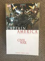 Captain America: Civil War  TPB Ed Brubaker Falcon Winter Soldier Iron Man