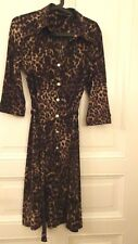 Damen HALLHUBER TREND Kleid Gr L 40 42 44  LEO Print EYECATCHER