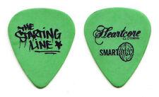 The Starting Line Matt Watts Green Heartcore Tour Guitar Pick - TSL