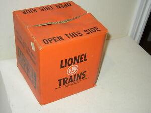Lionel Train Transformer KW 190 watts empty box orange
