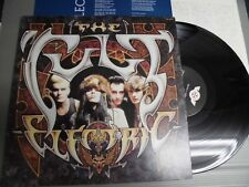 THE CULT Japan LP with INSERT, ELECTRIC  G/F Cover