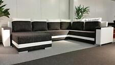 Couch Couchgarnitur TUNIS U Sofagarnitur Sofa Wohnlandschaft Schlaffunktion