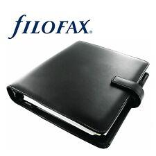 Filofax A5 Identity Organiser - Black Leather Look (028468) 2020 Diary