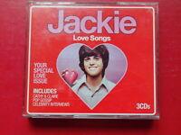 CD JACKIE LOVE SONGS EMI 2010 Rock/Pop Album 65 Tracks David Essex, Dawn, Al Gre