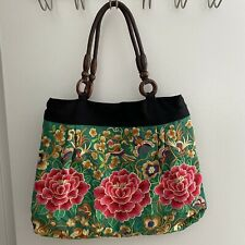 Asian Embroidery Tote Bag