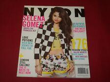 2013 FEBRUARY NYLON MAGAZINE - SELENA GOMEZ COVER - FASHION - RC 1341