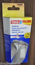 5 Packungen Tesa 55235 Weiß Klettband zum bügeln Gesamt 5 Meter