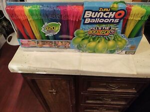 Zuru Bunch O Balloons 420 Total Count Toy of the Year 2017 Water Fight New