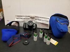 Canon EOS Rebel G Camera w/ 35-80mm Zoom Lens, Strap, Case, Cover, Tiffin Filter