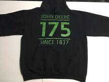 EST 1837 MEN'S JOHN DEERE TRACTOR Hooded SWEATSHIRT HOODIE Lawn Tractor Medium