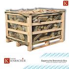 1-5 Holzboxen Brennholz Hartholzmix 25cm Scheite Kaminholz trocken 0,8-4m³-SRM
