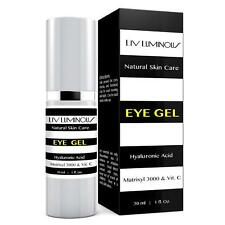 Liv Luminous Eye Gel Infused with Matrixyl 3000 All Natural Anti Aging Eye Treat