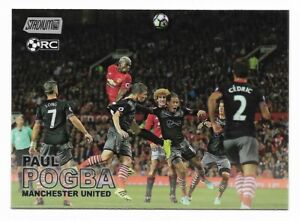 Paul Pogba Rookie RC 2016/17 Topps Stadium Club Premier League Manchester United