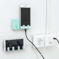 Cell Phone Bracket Wall Mount Charger Charging Stand Support For iPhone Android