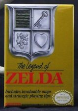 "The Legend of Zelda Nintendo Game Box 2"" x 3"" Fridge / Locker Magnet. NES"
