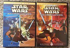 Star Wars - Clone Wars: Volume 1 and Volume 2 (DVD, 2005)
