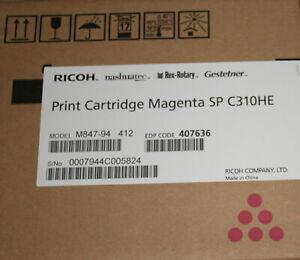 RICOH Cartouche Toner  Magenta SPC 310 HE pink Print Cartridge