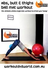 Pilates EXERCISE DVD - Barlates Body Blitz ABS & LEGS PILATES BALL MAT WORKOUT!