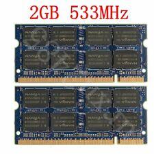 4GB 2x 2GB / 1GB PC2-4200S DDR2 533MHz SODIMM Laptop RAM For NANYA LOT UK