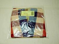 LONGABERGER Large Twist Basket Fabric Liner Only WT Everyday Plaid Pattern NIP