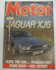 Motor Magazine Jaguar XJ6 October 1986 060515R2