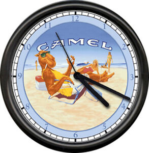 Joe Camel California Beach Girls Sunning Retro Vintage Cigarette Sign Wall Clock