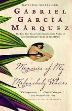 Memories of My Melancholy Whores by García Márquez, Gabriel
