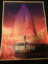 2017 Las Vegas STAR TREK Convention DISCOVERY Poster (18x24)